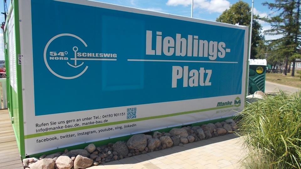 54° Nord Schleswig - Manke - Banner | Gennat + Petersen Werbung