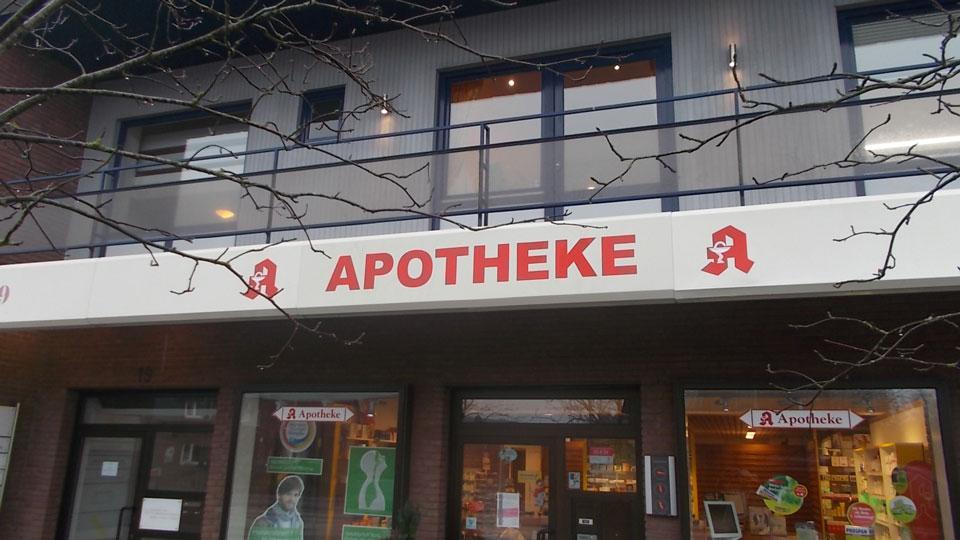 Apotheke - Aluminiumbau | Gennat + Petersen Werbung