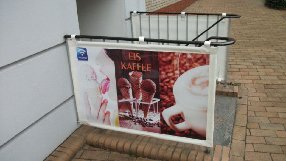 Eis Kaffee - Banner | Gennat + Petersen Werbung