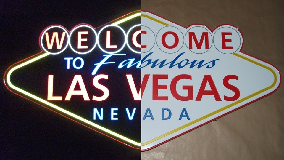 Las Vegas - Leuchtkästen | Gennat + Petersen Werbung