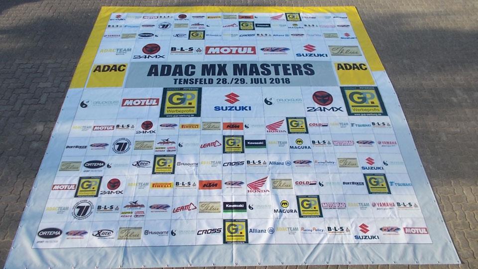 Red Bull - ADAC Masters - Banner | Gennat + Petersen Werbung