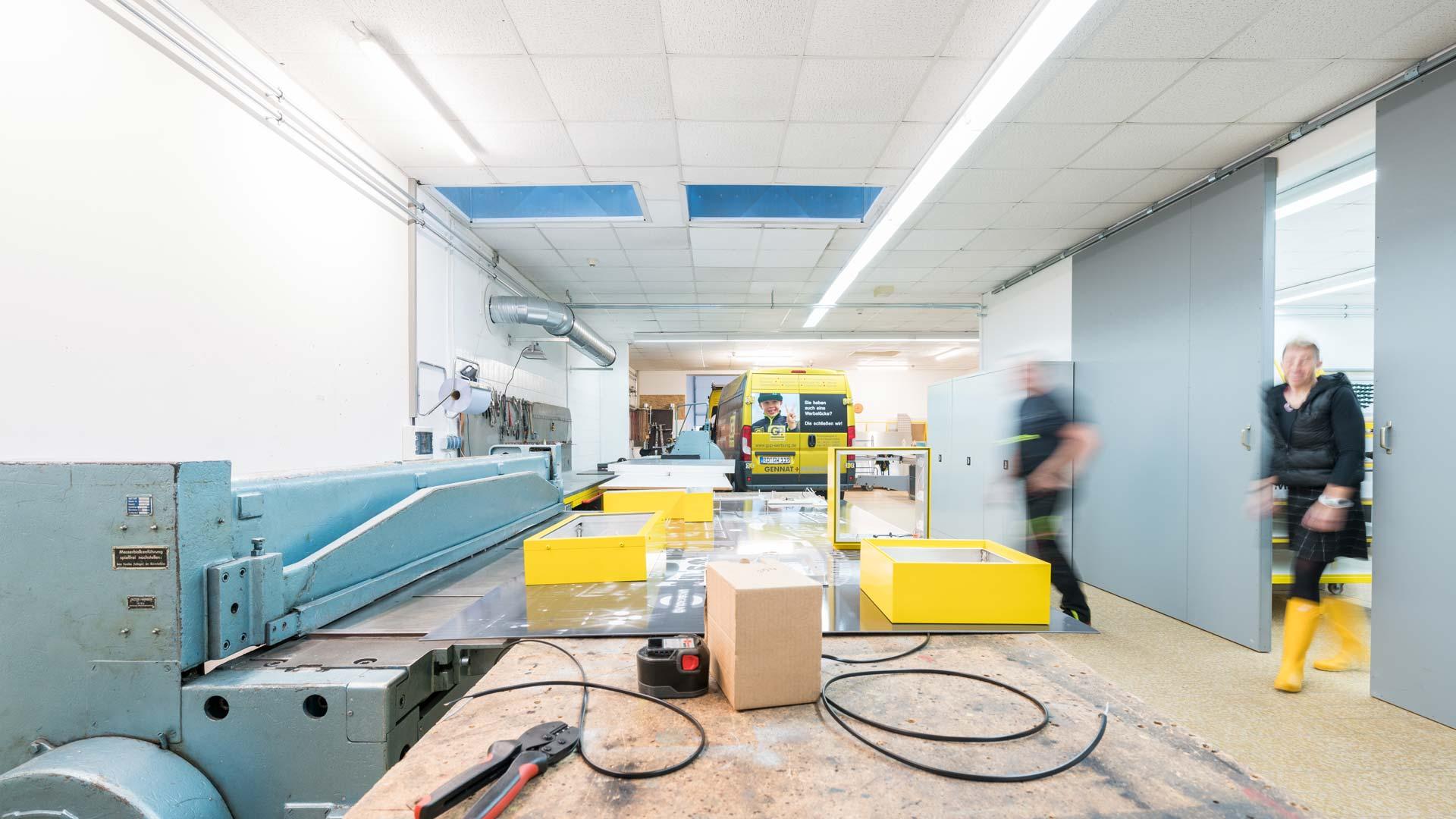 Produktionsstätte - Das Team | Gennat + Petersen Werbung
